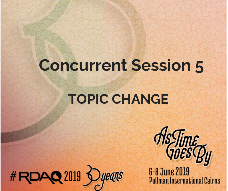 Concurrent 5 – Topic change